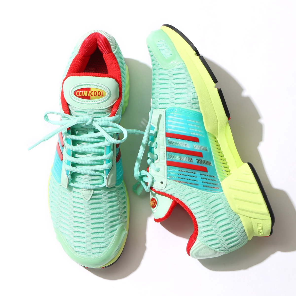 best cheap 135cc 6f6b8 adidas Originals CLIMACOOL 1 (アディダスクライマクール 1) (Frozen Green/Semi Frozen  Yellow/Core Red) 17SS-S