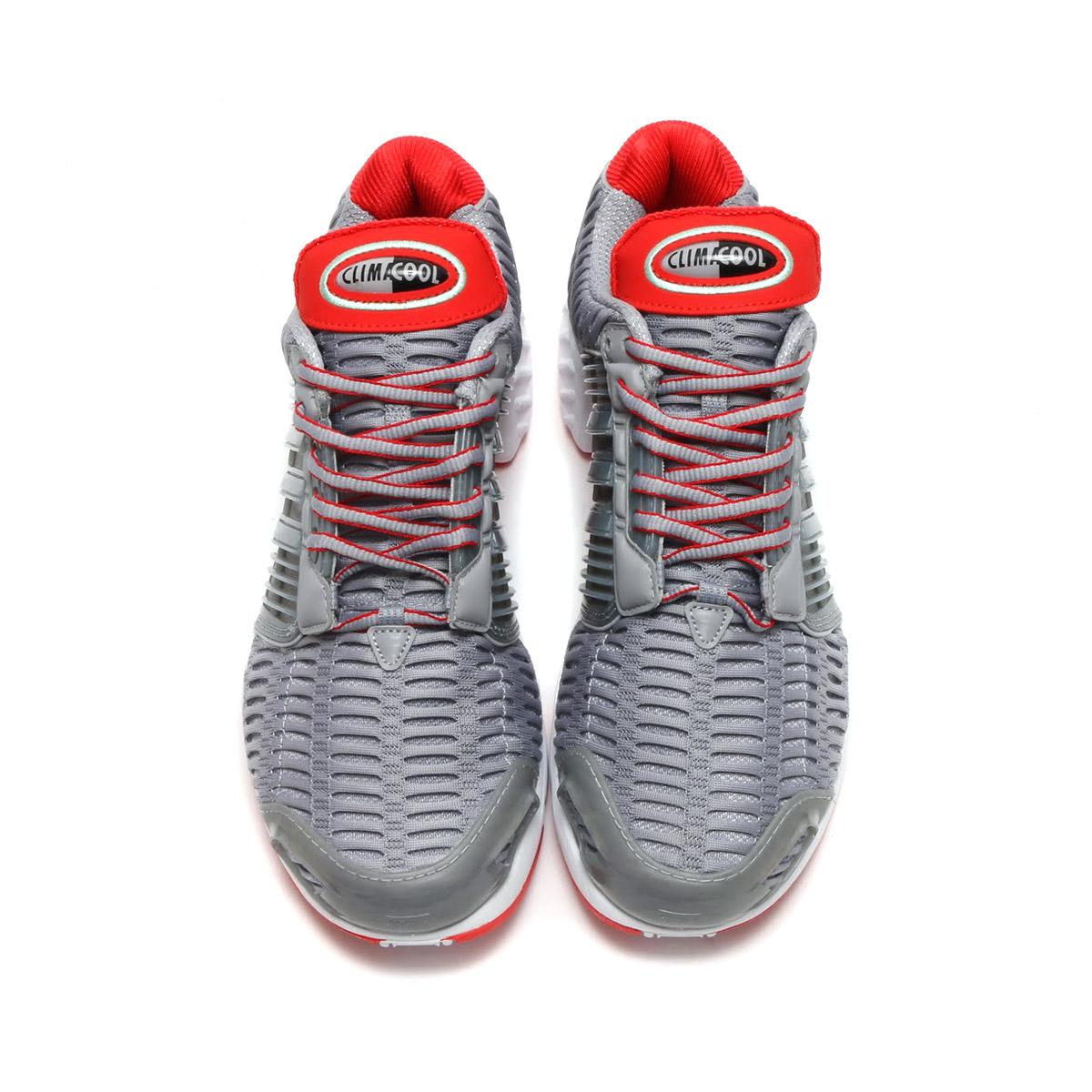 adidas CLIMACOOL 1 (아디다스크라이마크르 1) (Mid Grey S14/Mid Grey S14/Red)