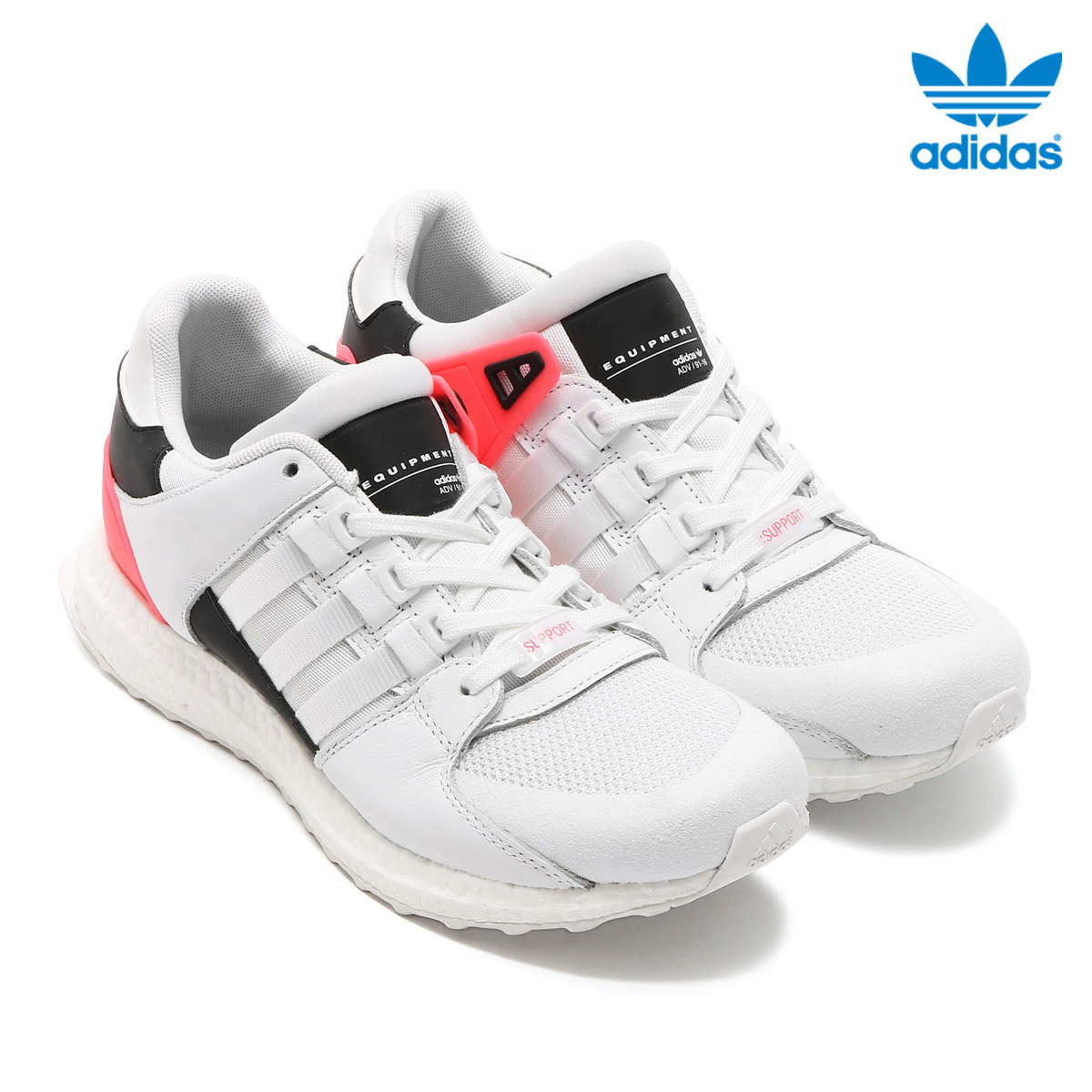 adidas Originals EQT SUPPORT ULT(アディダス オリジナルス エキップメント サポート)(Running White/Running White/Turbo)【メンズサイズ】17SS-I