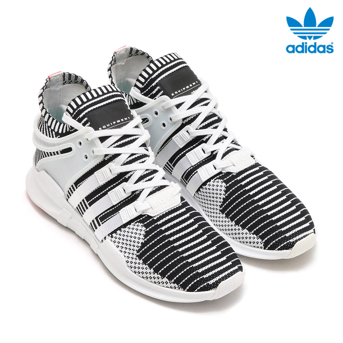 05cf56d67201 I post three stripe to connect it with the EVA mid sole with cushion  characteristics to the upper of the elastic adidas prime knit