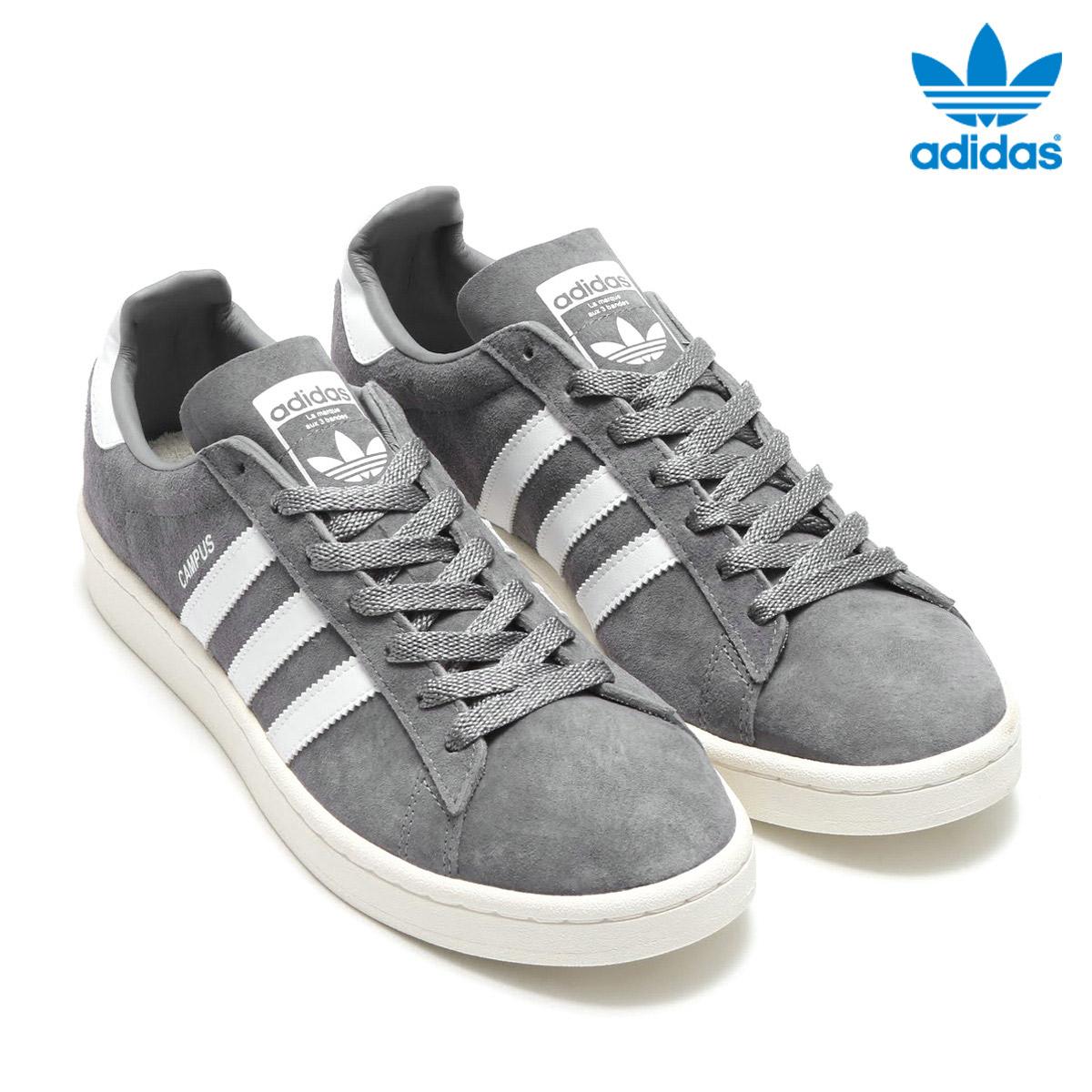 『1年保証』 adidas Originals CAMPUS(アディダス オリジナルス スニーカー】17SS-I キャンパス)(Grey オリジナルス/Running White/Chalk White/Chalk White)【メンズ レディース スニーカー】17SS-I, ミナミカタマチ:ff7a7384 --- canoncity.azurewebsites.net