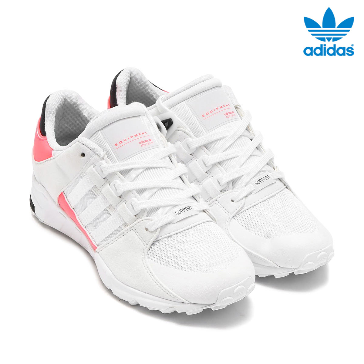the latest 92b58 8b53a adidas Originals EQT SUPPORT RF (Adidas original Sue ticket men Tosa port)  (Running White/Running White/Turbo) 17SS-I