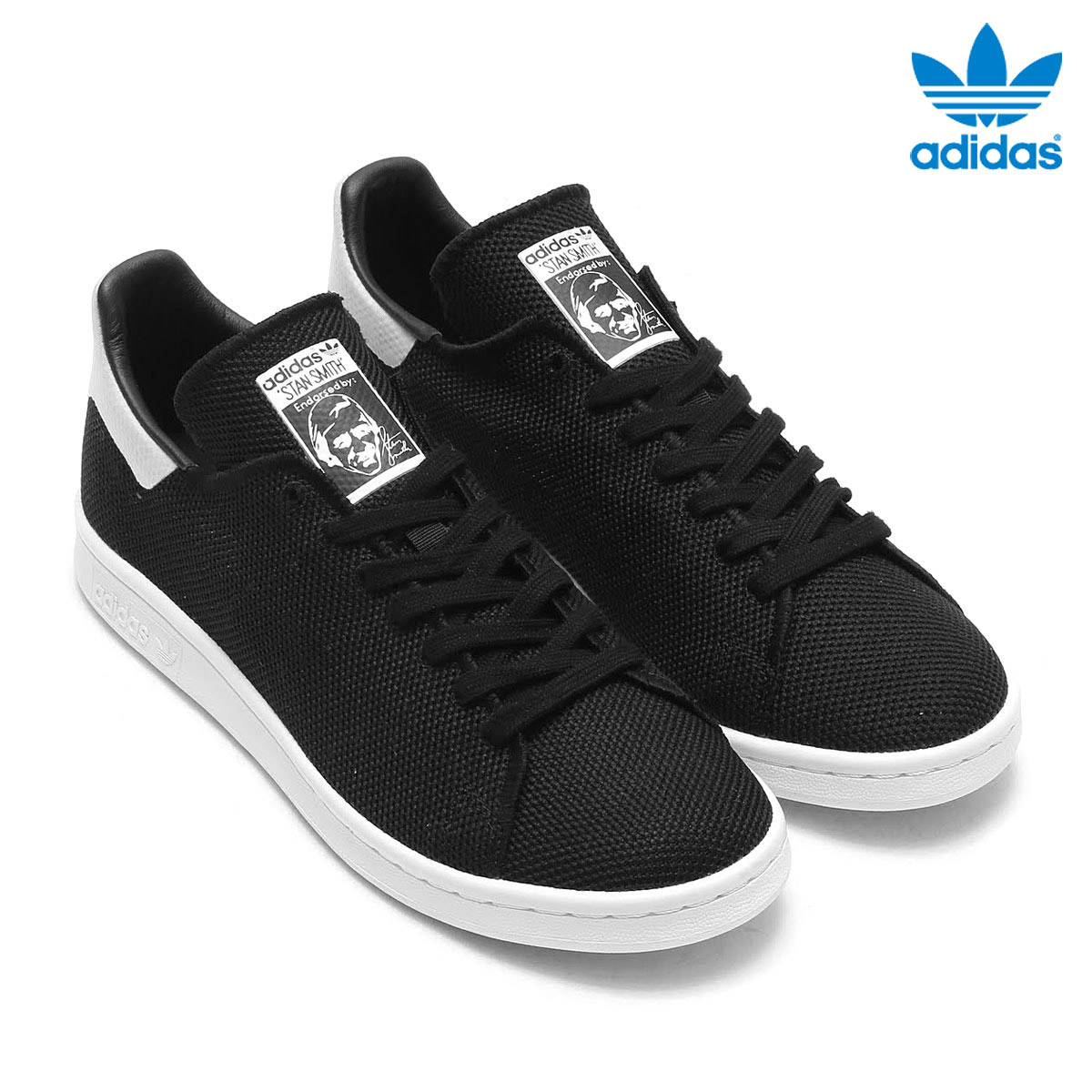 watch d8c5b b7fa3 adidas Originals STAN SMITH (Adidas originals Stan Smith) (Core Black/Core  Black/Running White) 17SS-I