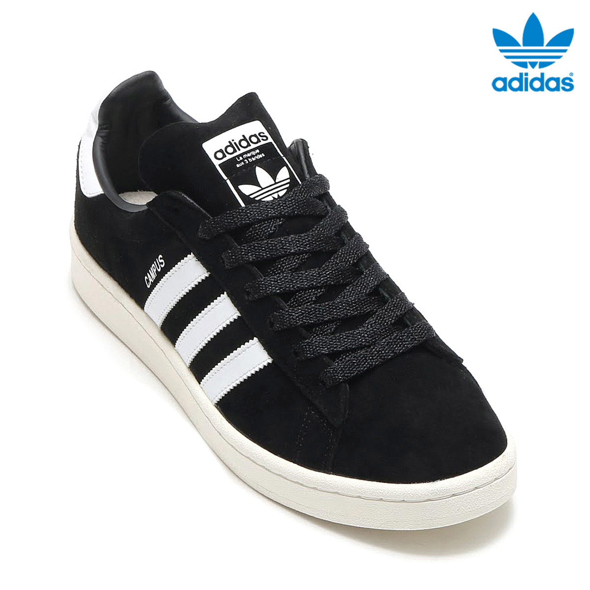 adidas Originals CAMPUS (Adidas original scan pass) (Core BlackRunning WhiteChalk White)