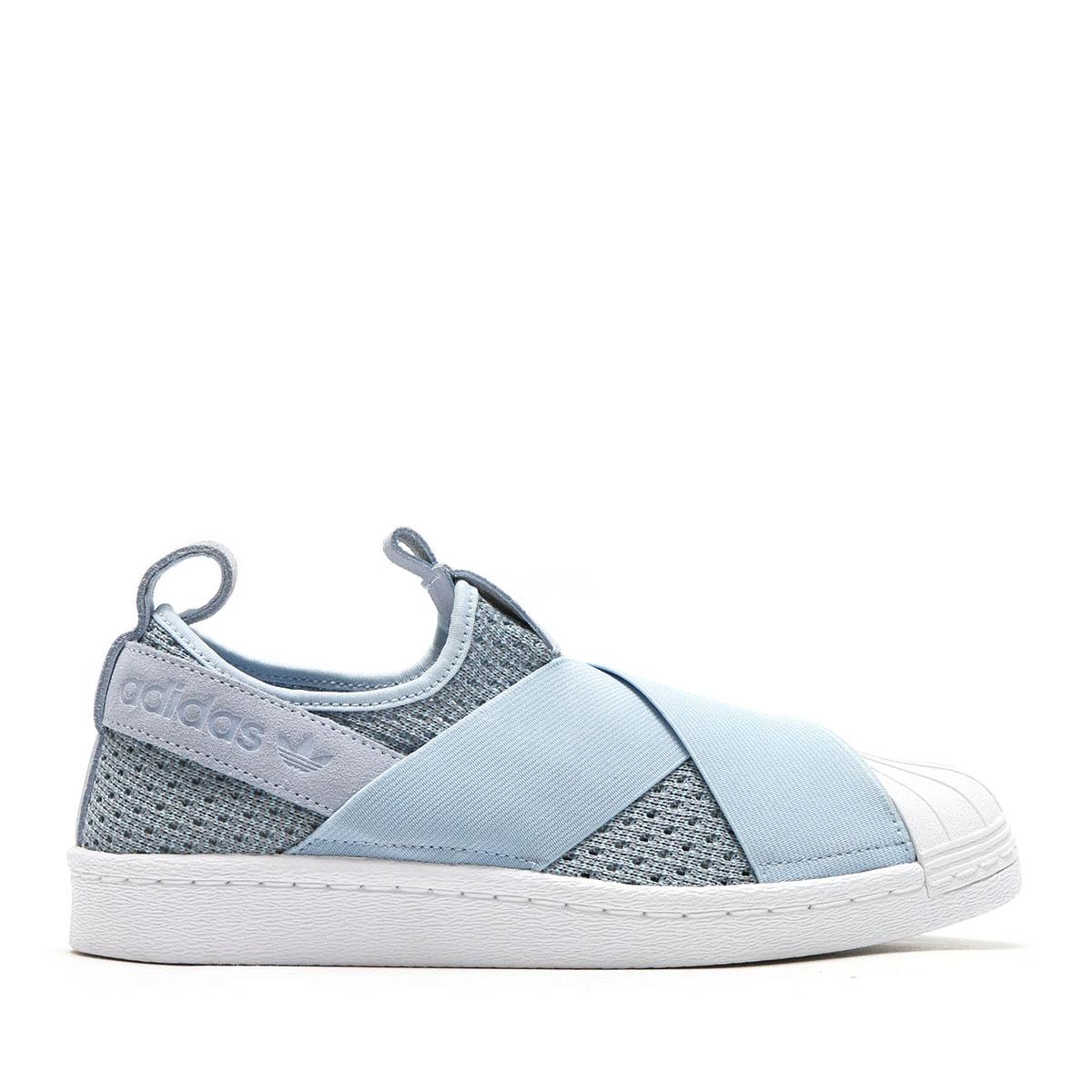 Adidas Superstar Scivolare Su Scarpe Blu qHsqC