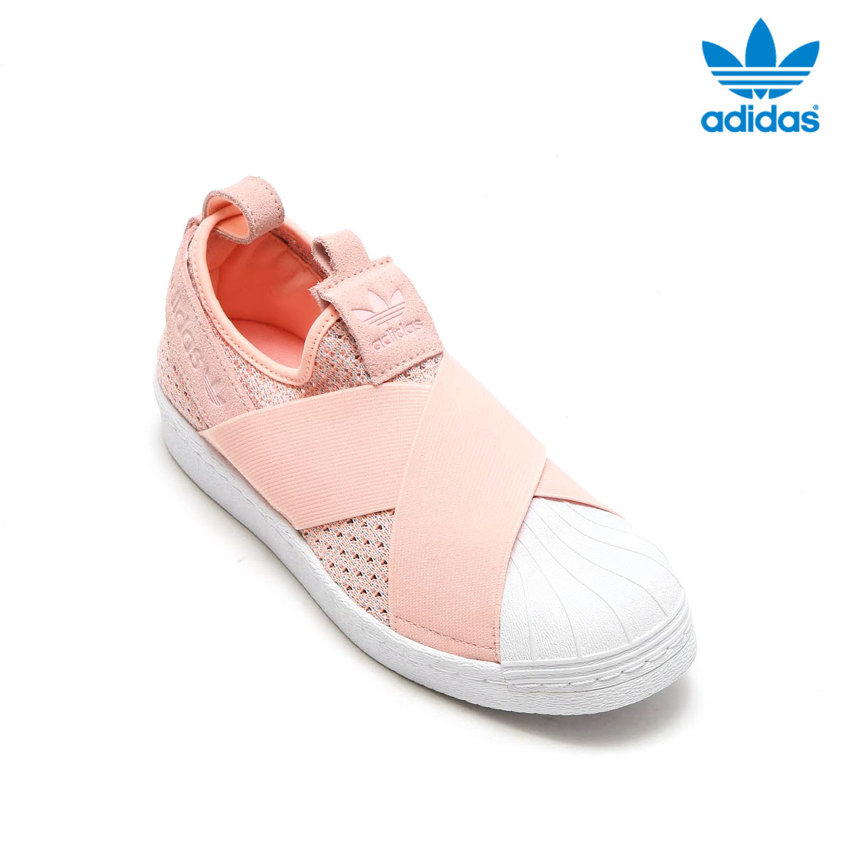 8a7a5015dd3b42 adidas Originals SUPERSTAR SlipOn W (Adidas superstar slip-on W) (Haze  Coral S17 Haze Coral S17 Off White)