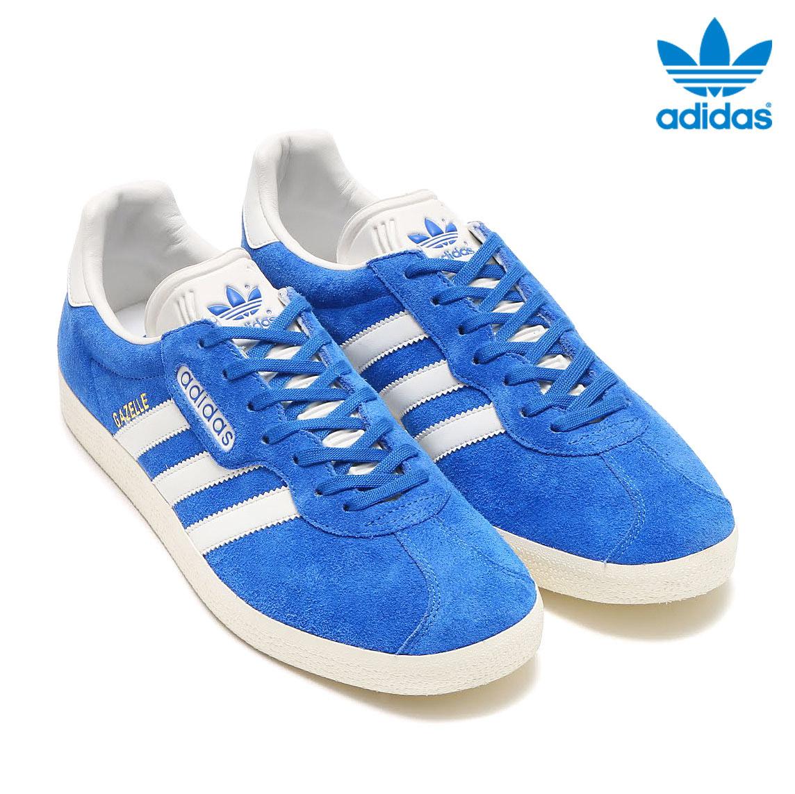 adidas Originals GAZELLE SP (アディダス オリジナルス ガゼル) (Blue/Vintage White/Gold Mett) 【メンズ レディース スニーカー】17SS-I