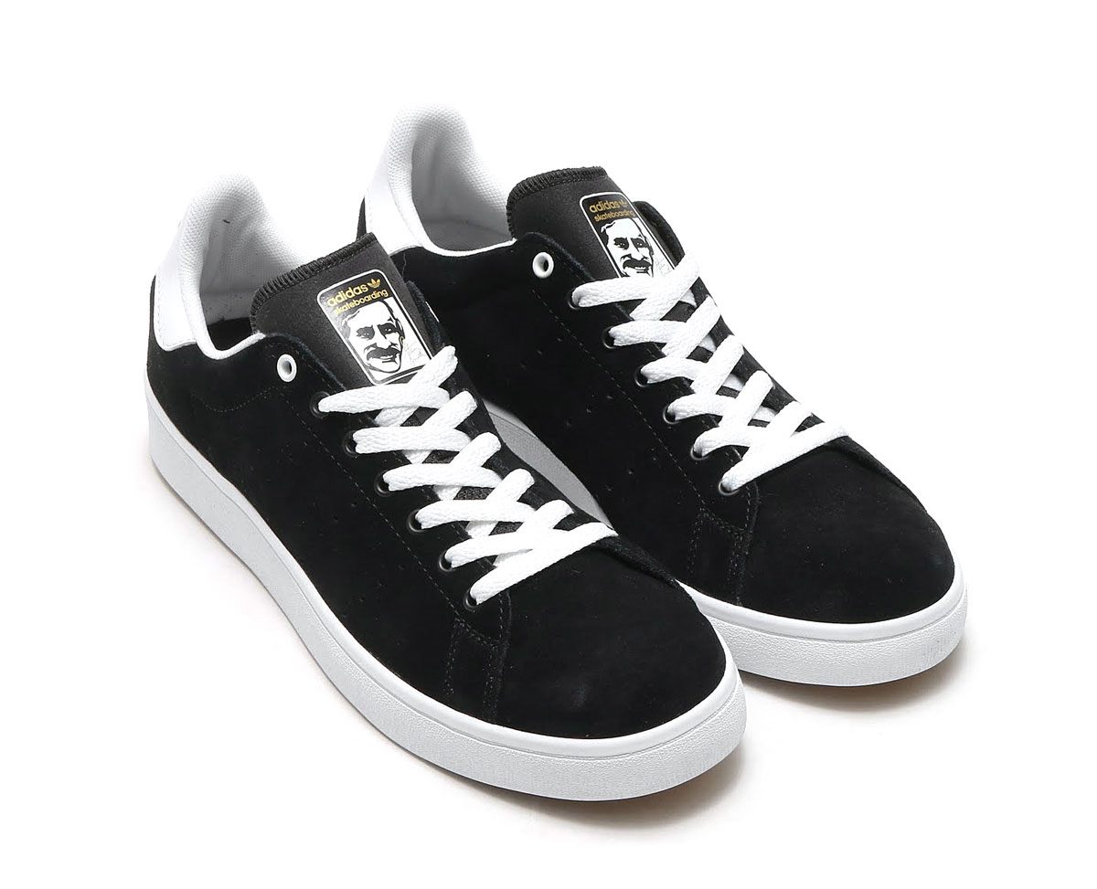 adidas Originals STAN SMITH VULC (Adidas originals Stan Smith) (Core BlackCore BlackRunning White) 17FW I
