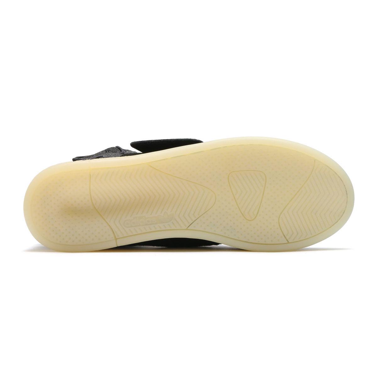 adidas Originals TUBULAR INVADER STRAP JC(adidasuorijinarusuchuburaimbeidasutorappu JC)(Core Black/Core Black/Crystal White)17SS-I