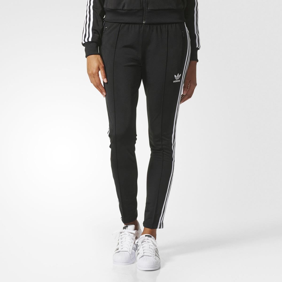 90307fec adidas Originals SST TRACK PANTS (Adidas originals SST trackpants BLACK  17FW-I