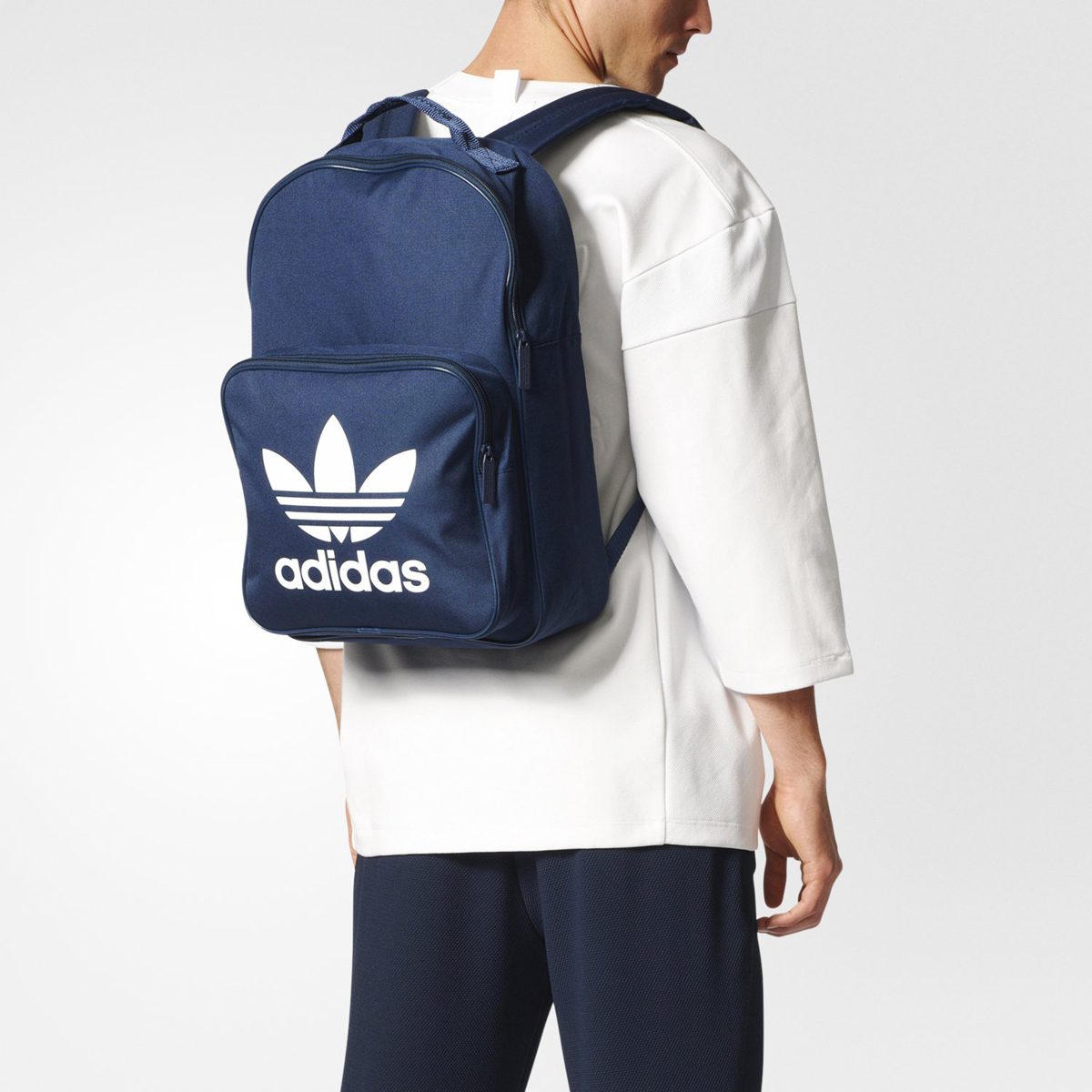 2a591dc4ac adidas Originals BACKPACK CLASSIC TREFOIL (アディダスバックパッククラシックトレフォイル) (Off  White Easy Pink) 17SS-I