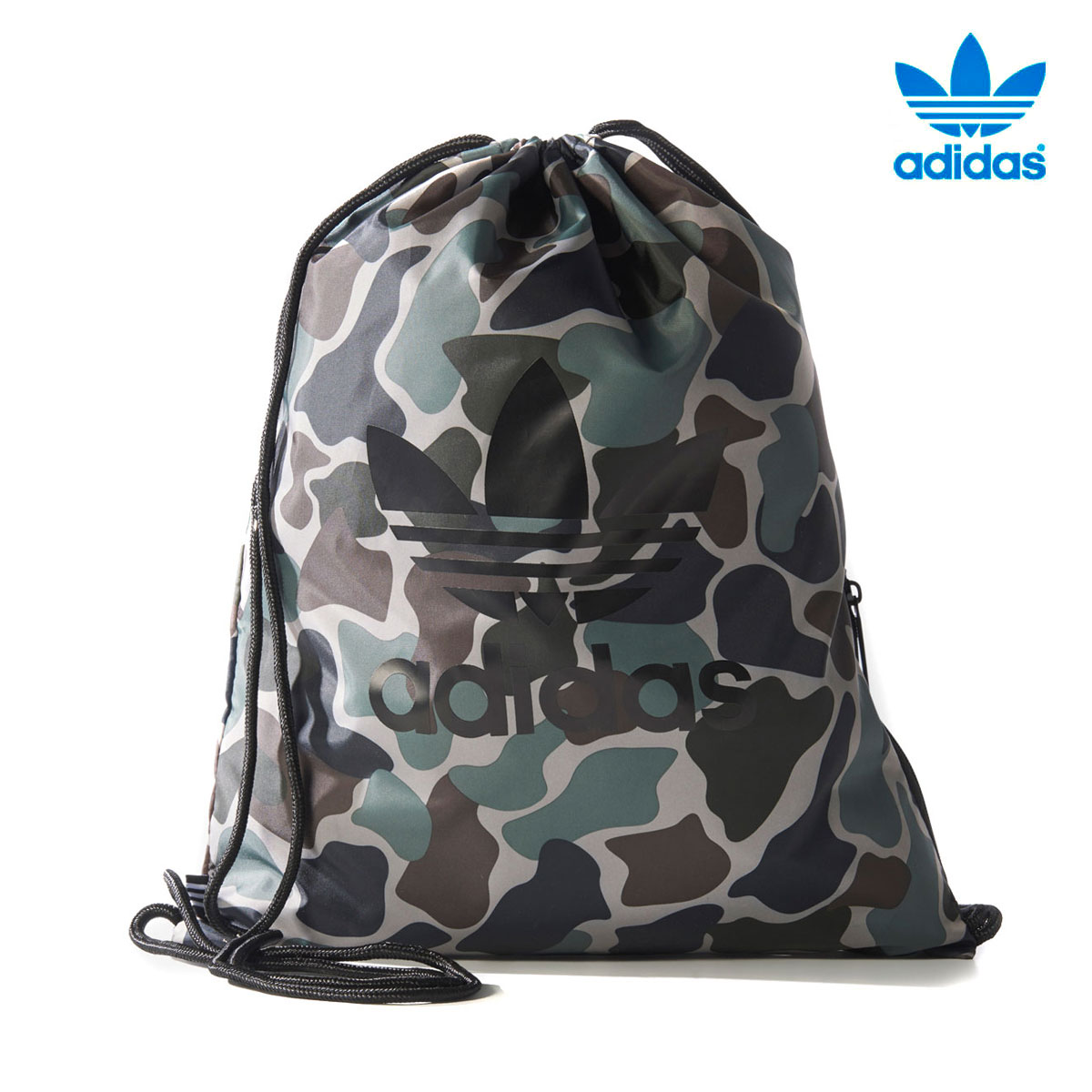 adidas Originals GYMSACK CAMO (Adidas originals gym case duck) MULTI COLOR  17FW-I