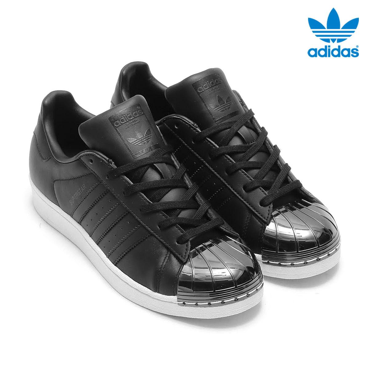 adidas Originals SUPERSTAR METAL TOE W (Adidas originals superstar metal toe) (Core Black/Core Black/Running White)