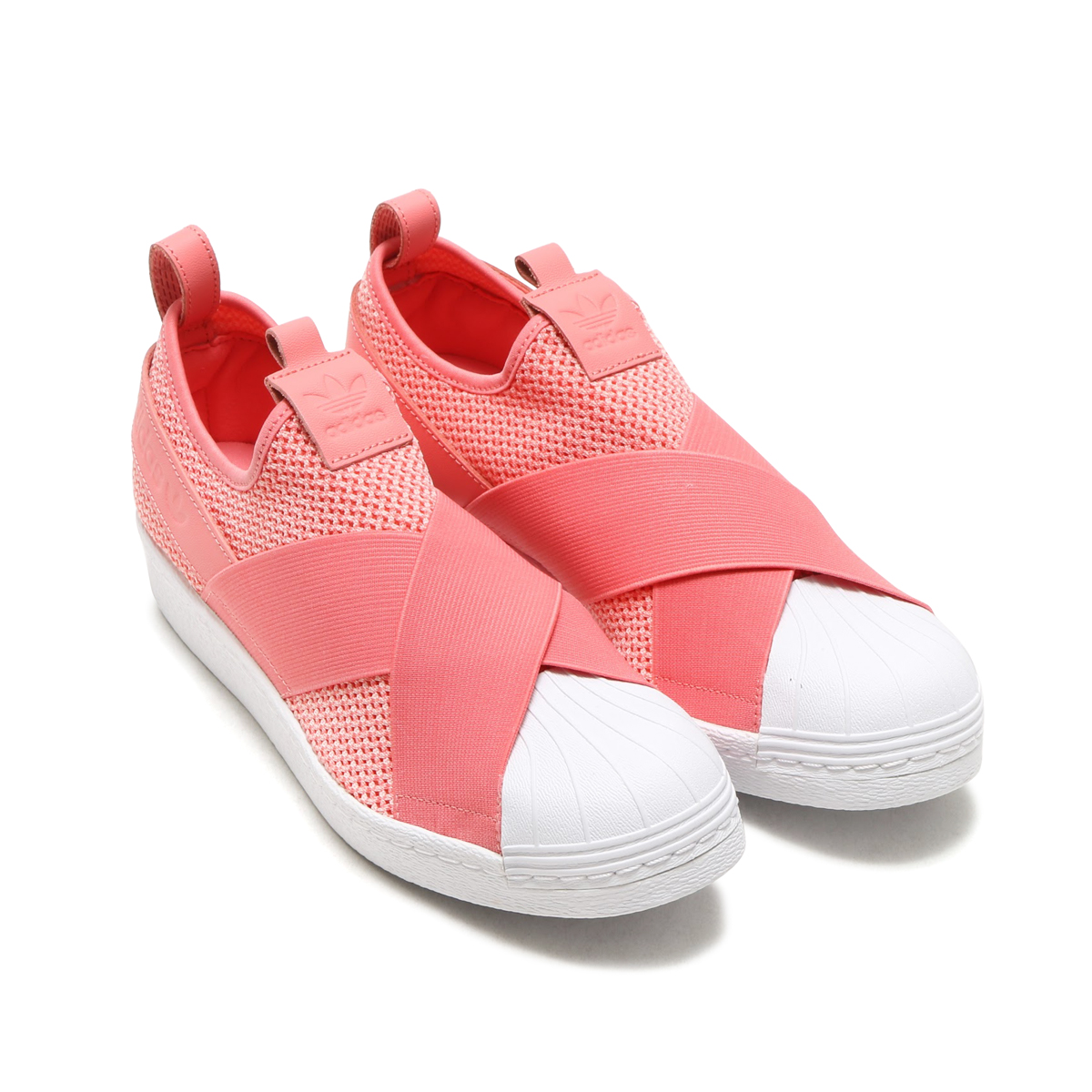 adidas Originals SUPERSTAR SlipOn W (Adidas originals superstar slip-on)  Tactile Rose Tactile Rose Running White 17FW-I b4adb6285