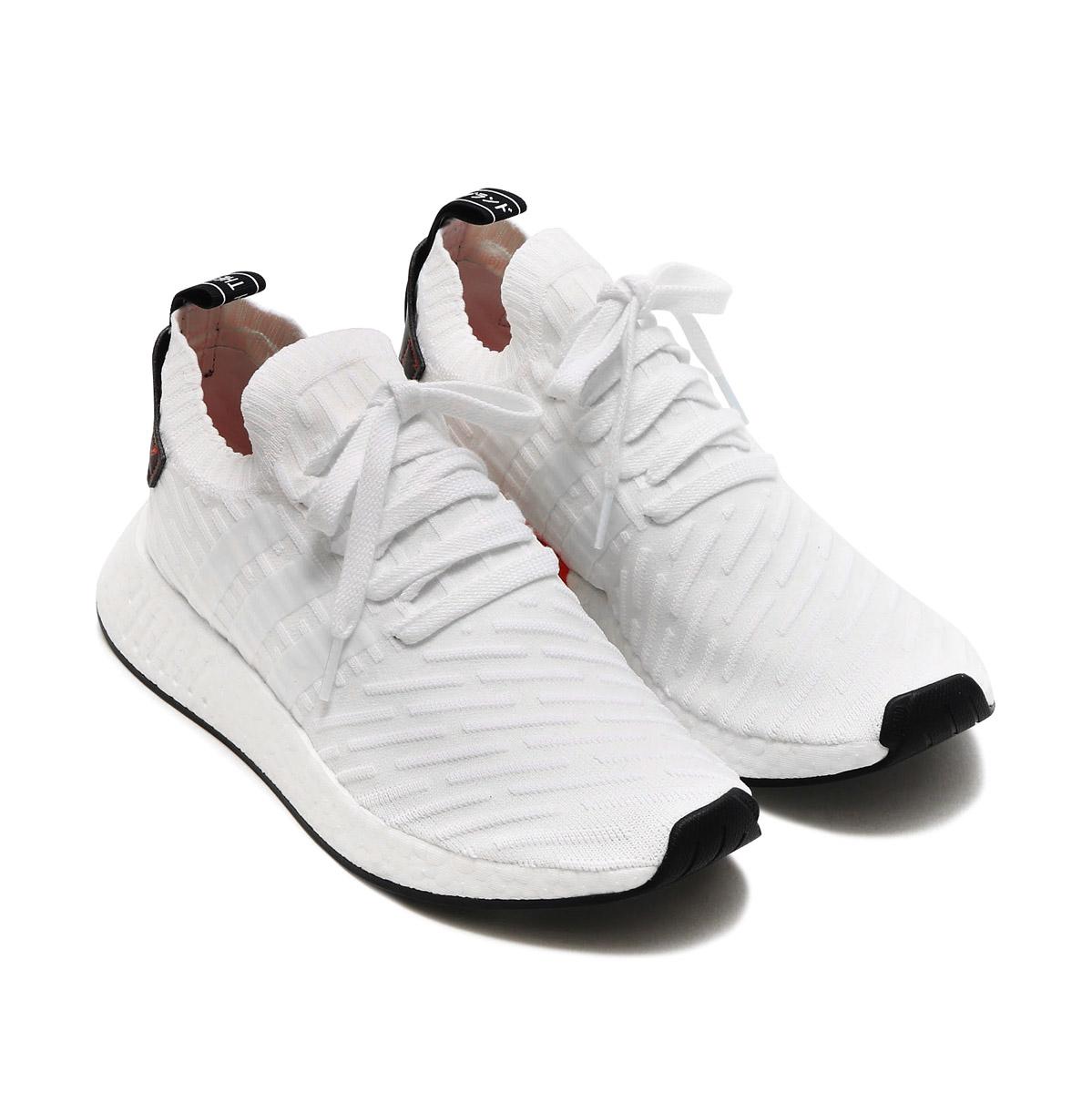 hot sale online a3450 c2a97 adidas Originals NMD_R2 PK (Adidas NMD_R2 PK) (white) 17FW-I