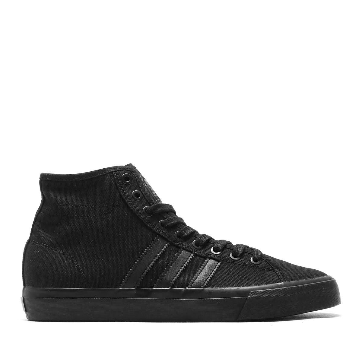 adidas Originals Skateboarding MATCHCOURT HIGH RX (아디다스오리지나르스스케이트보딘그맛치코트하이 RX) (Core Black/Core Black/Core Black) 17 SS-I