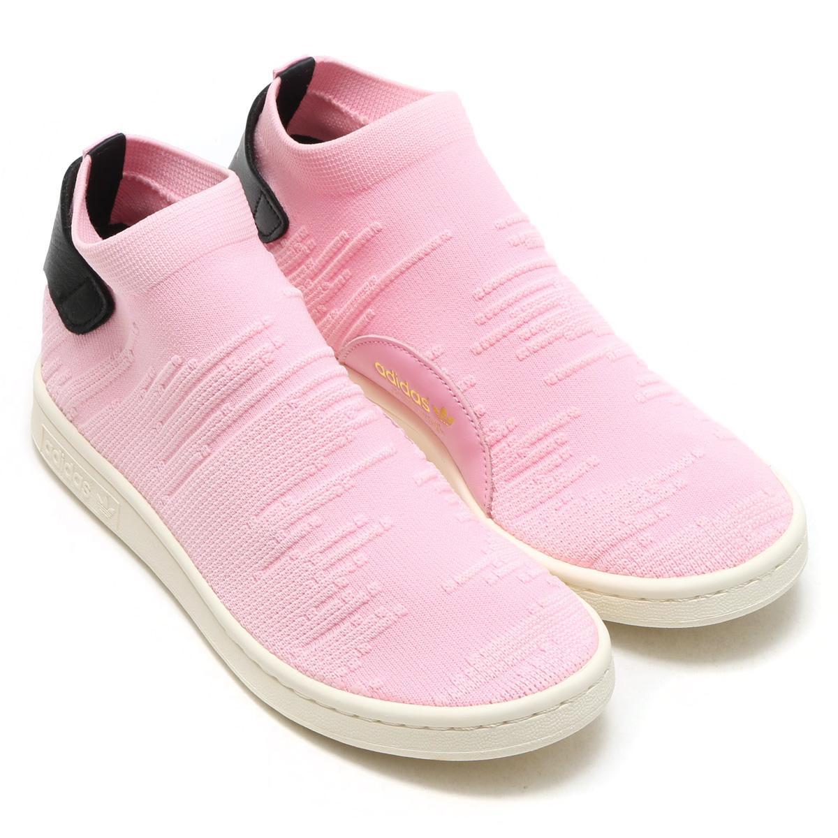 adidas STAN SMITH SOCK PK W(アディダス スタン スミス ソック PK W)PINK【レディース スニーカー】17FW-S
