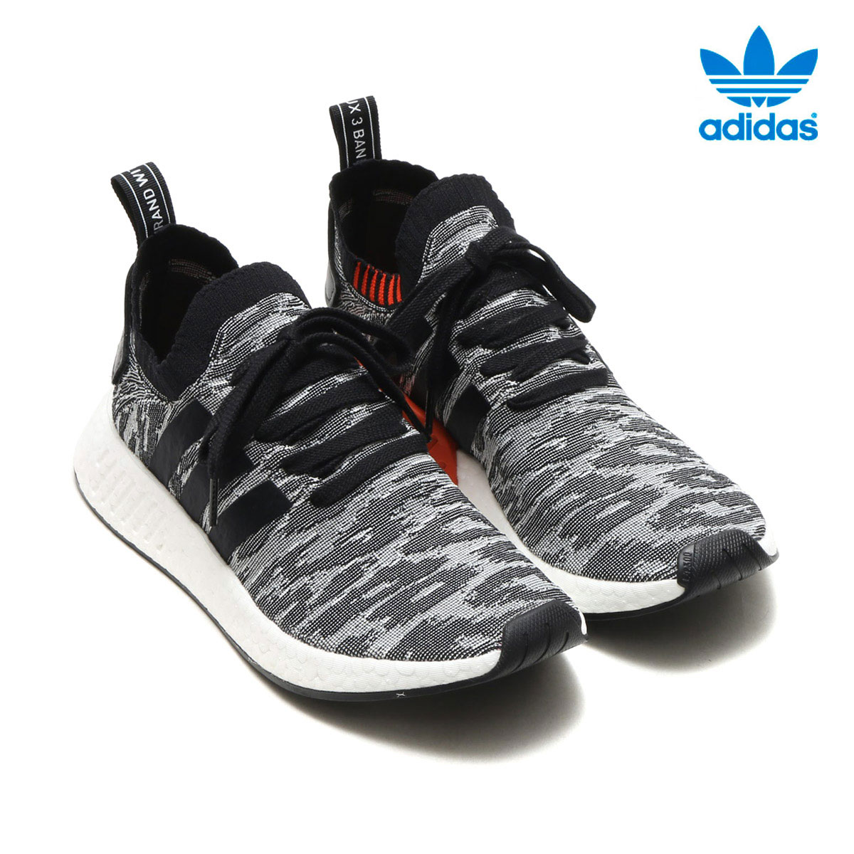 40fa51aae63e0 adidas Originals NMD R2 PK (Adidas originals nomad) (CORE BLACK CORE BLACK)  17FW-I