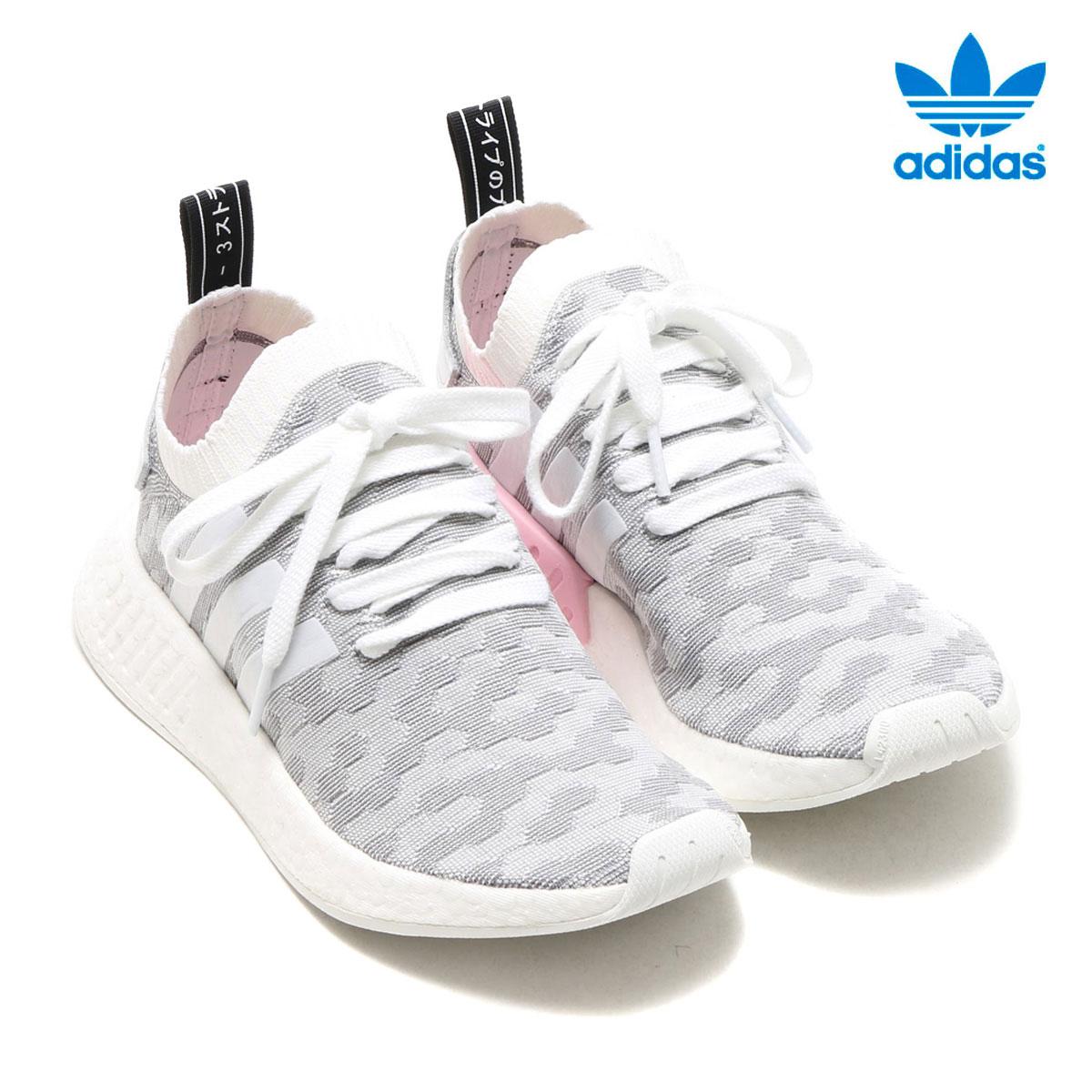 best service c90ec 23a34 adidas Originals NMD R2 PK W (Adidas originals nomad) (RUNNING  WHITE/RUNNING WHITE) 17FW-I