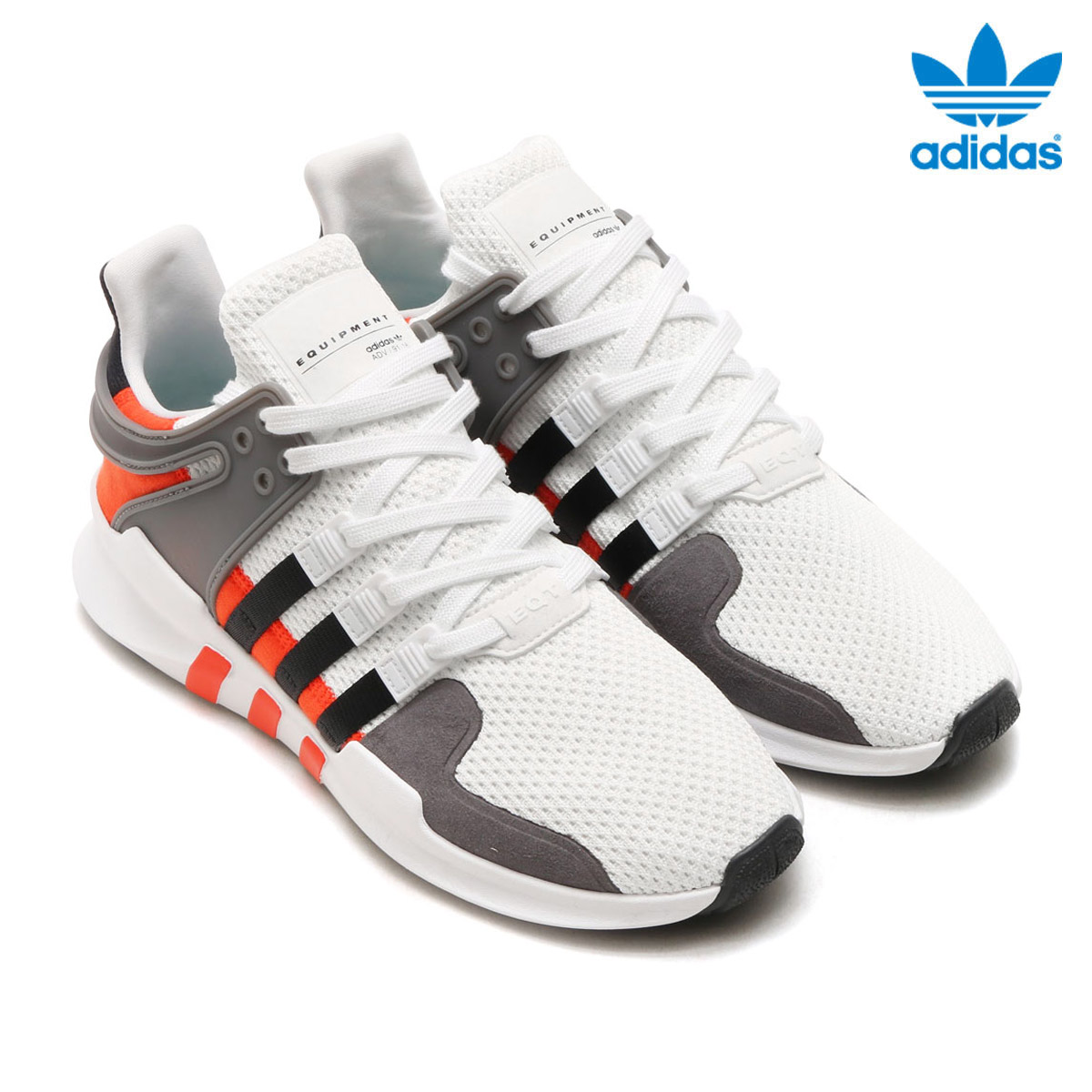 Adidas Originals EQT Support ADV VitSvartOrange | BY9584
