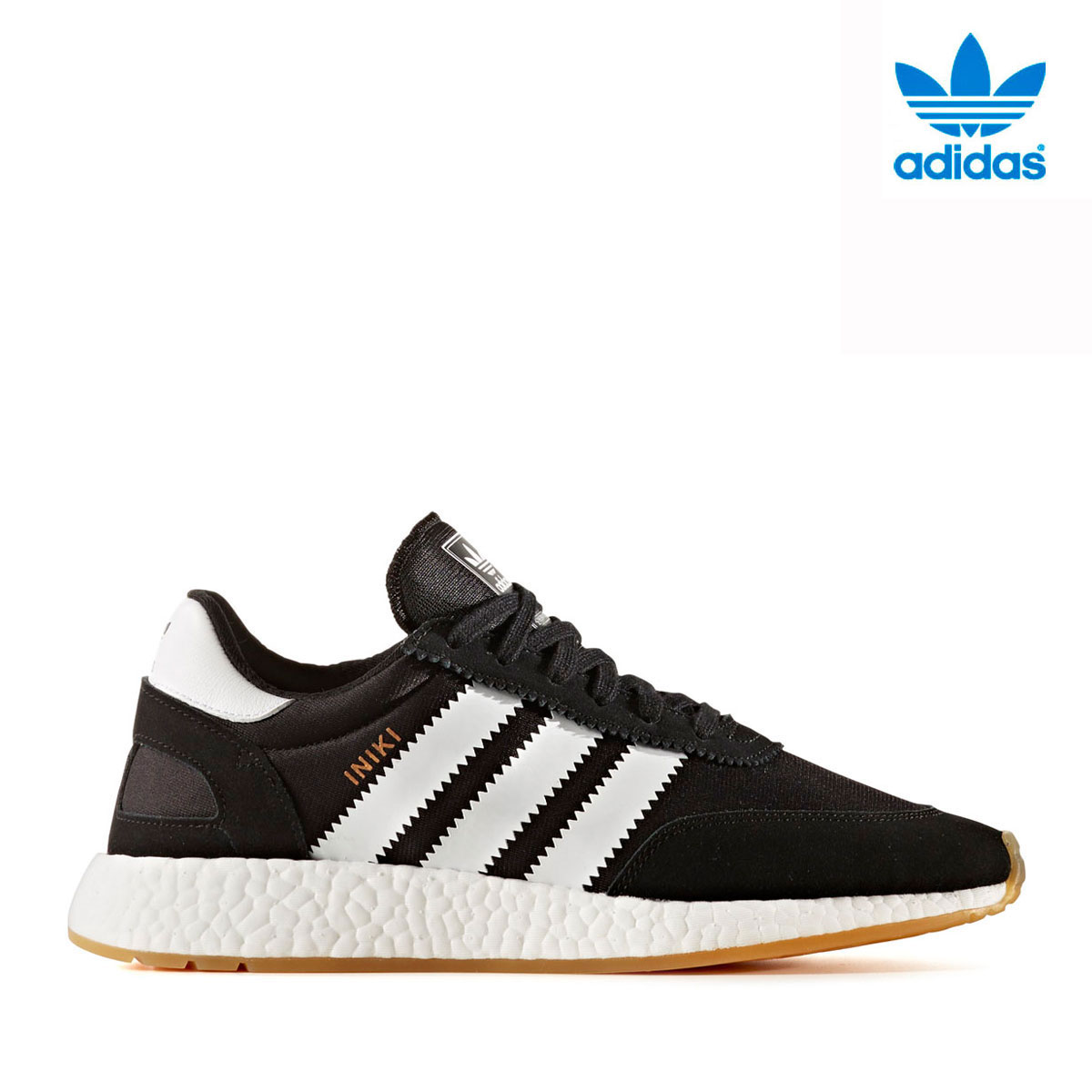 adidas Originals INIKIRUNNER (アディダス オリジナルス イニキランナー)CORE BLACK/RUNNING WHITE/GUM3【メンズ スニーカー】17FW-I