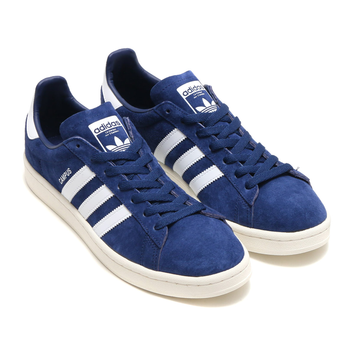 innovative design d1c6d cae00 adidas Originals CAMPUS (Adidas original scan pass) (Dark Blue Running  White Chalk White) 17FW-I