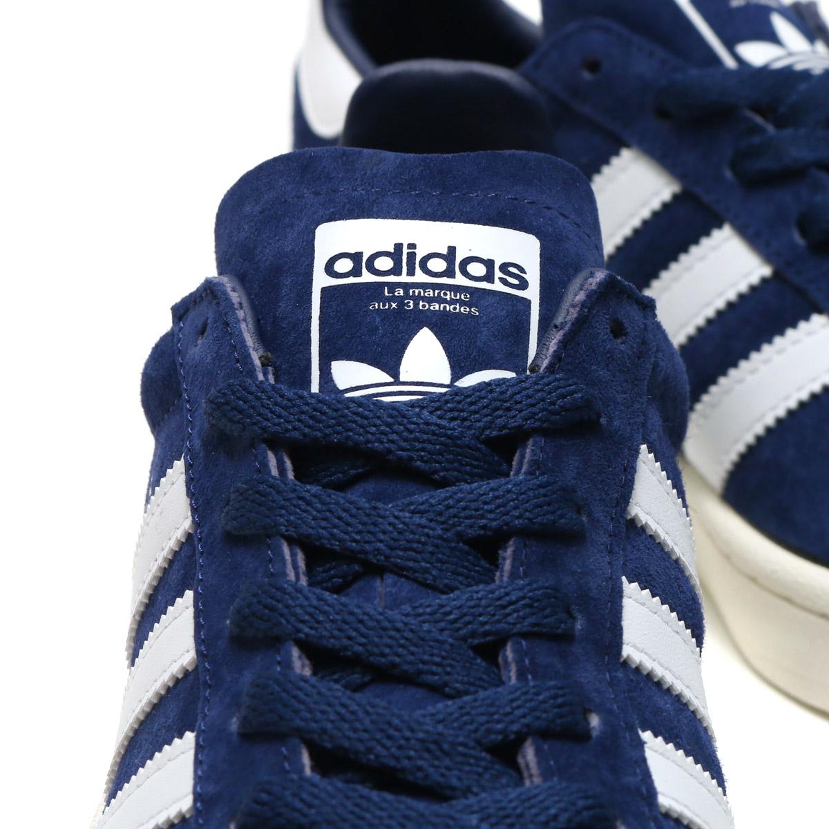 adidas Originals CAMPUS (아디다스오리지나르스캐파스) (Dark Blue/Running White/Chalk White) 17 FW-I