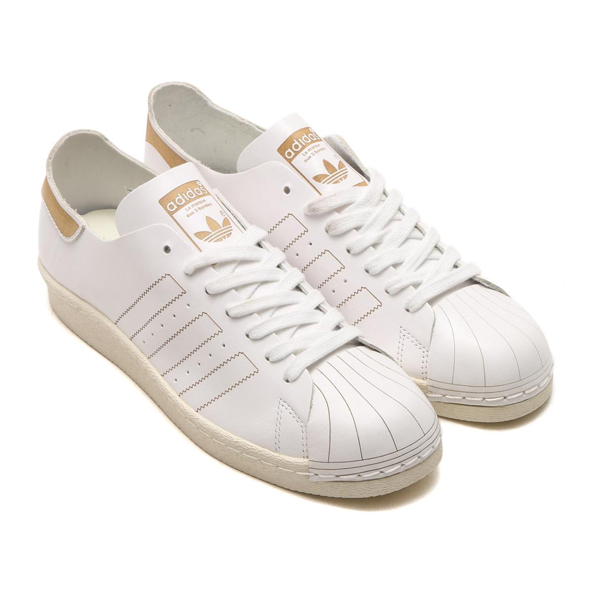 online retailer 86cee dd8b7 adidas Originals SUPERSTAR 80s DECON (Adidas originals superstar) (RUNNING  WHITE/RUNNING WHITE/VINTAGE WHITE) 17FW-S