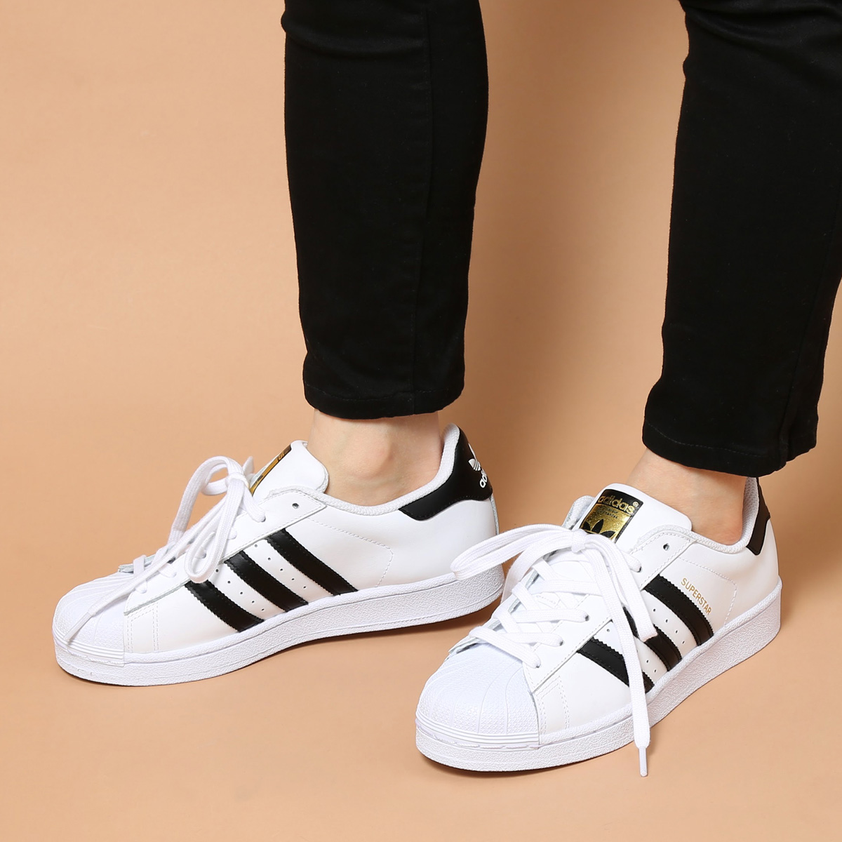 adidas Originals SUPERSTAR W【アディダス オリジナルス スーパースター ウィメンズ】Running White/Core Black/Running White【メンズ レディース スニーカー】【定番】 CRYOVR