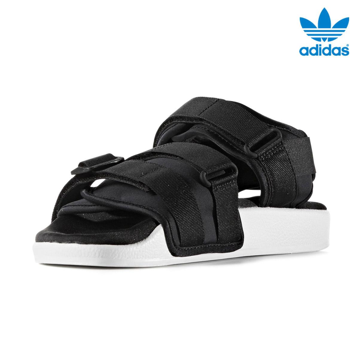 Wアディダスオリジナルスアディレッタサンダル Wcore White17ss Sandal Blackcore Blackrunning Adidas Orginals I Adilette 5AR4jq3L
