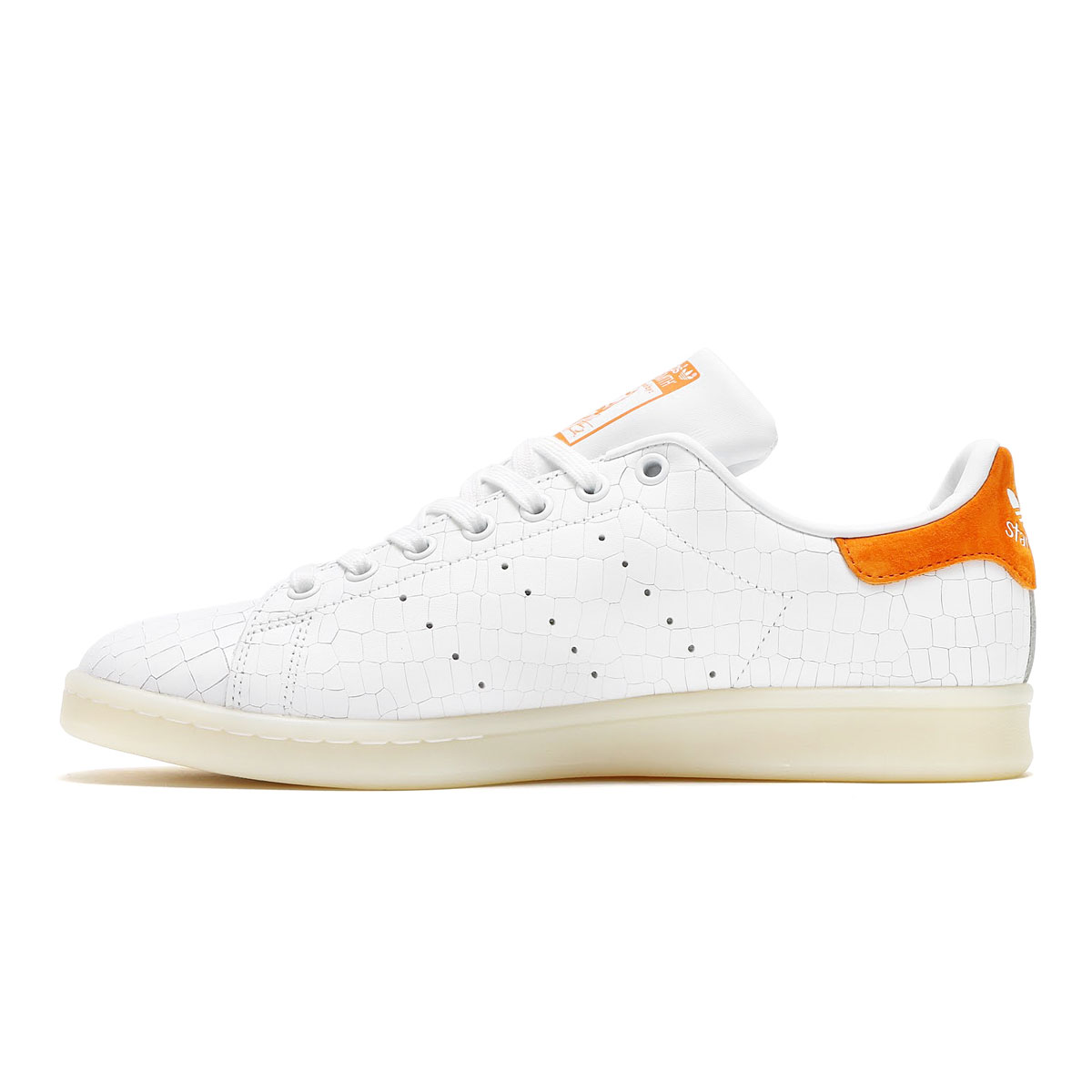 check out fb4db bd473 ... orange adidas Originals STAN SMITH (Adidas originals Stan Smith)  (Running WhiteRunning White ...