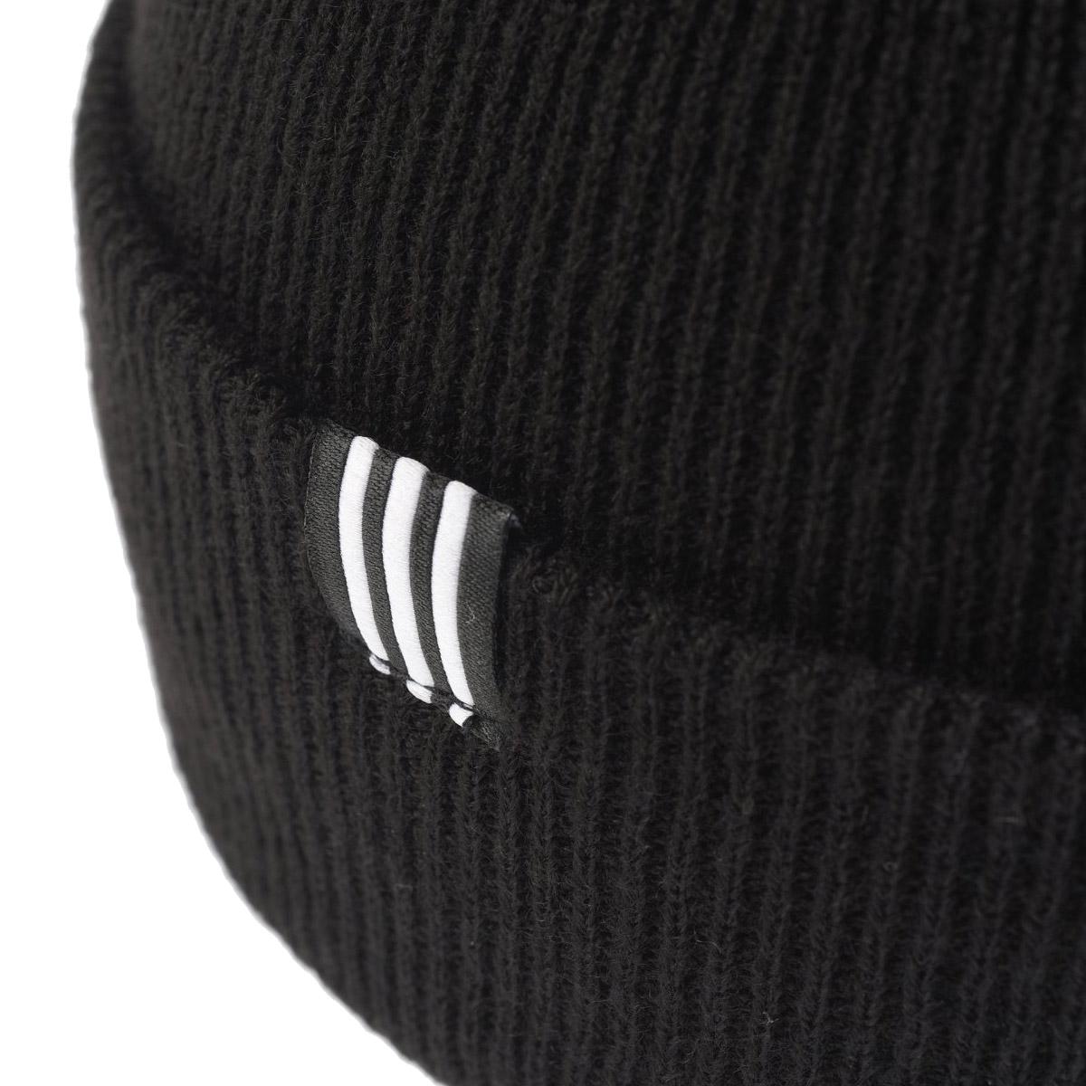 9273843b118 adidas Originals TREFOIL BEANIE (アディダスオリジナルストレフォイルビーニー) Black 18SP-S