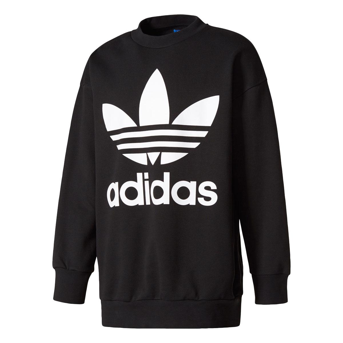 adidas Originals AC CREW (アディダス オリジナルス AC クルー) BLACK【メンズ クルーネック スウェット】17FW-I