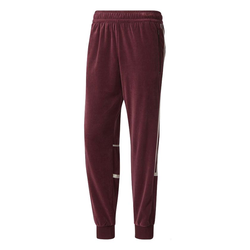 adidas Originals CHALLENGER VELOUR TRACKPANTS (Adidas originals challenger velour trackpants) Maroon 17FW I