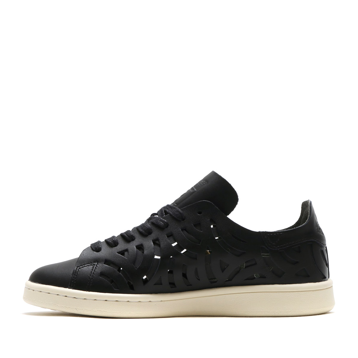 adidas Originals STAN SMITH CUTOUT W (Adidas originals Stan Smith cutout W) (Core Black/Core Black/Off White)