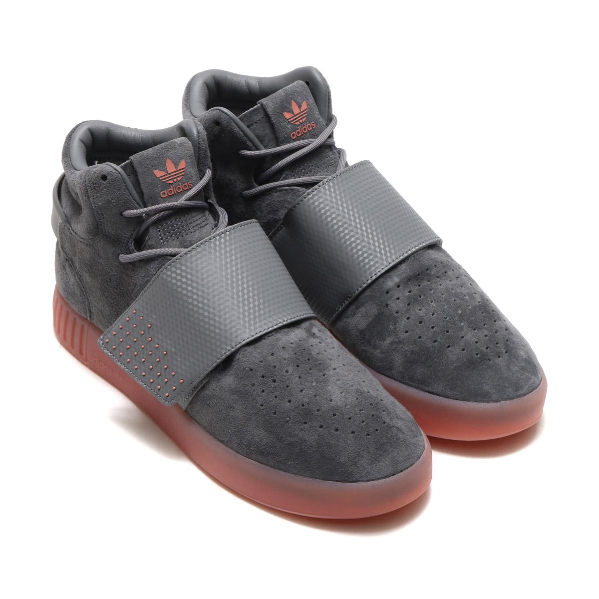 new concept aa49d d2bfa adidas Originals TUBULAR INVADER STRAP (アディダスオリジナルスチューブラーインベーダーストラップ) Grey  Four/Grey Four/Raw Pink 17FW-I