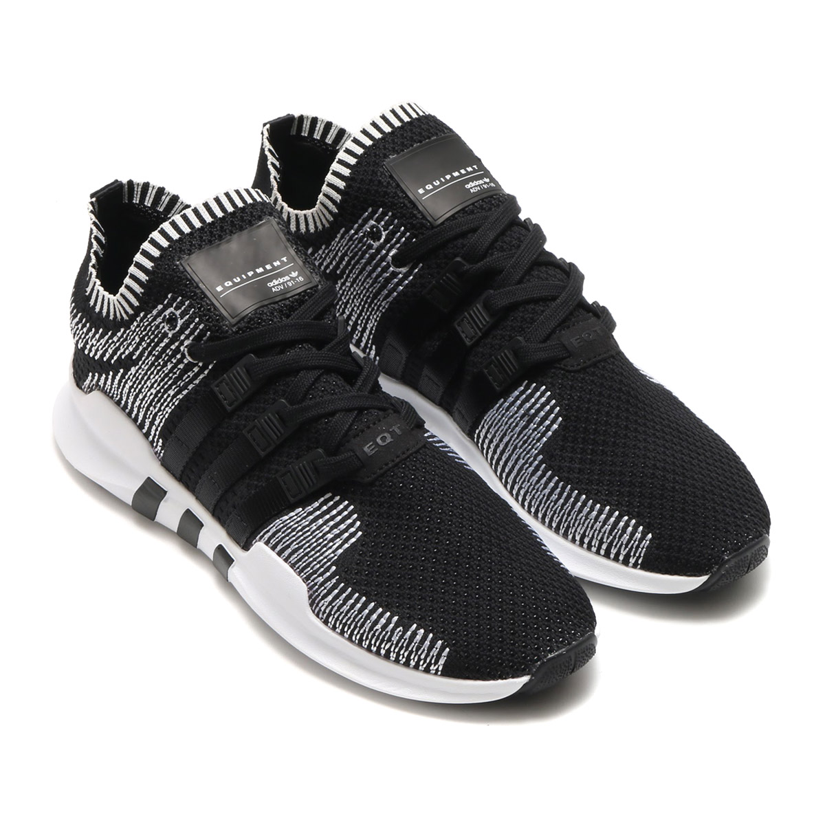 adidas Originals EQT SUPPORTADV PK(アディダス オリジナルス EQT サポートADV PK)CORE BLACK/CORE BLACK/RUNNING WHITE【メンズ スニーカー】17FW-I