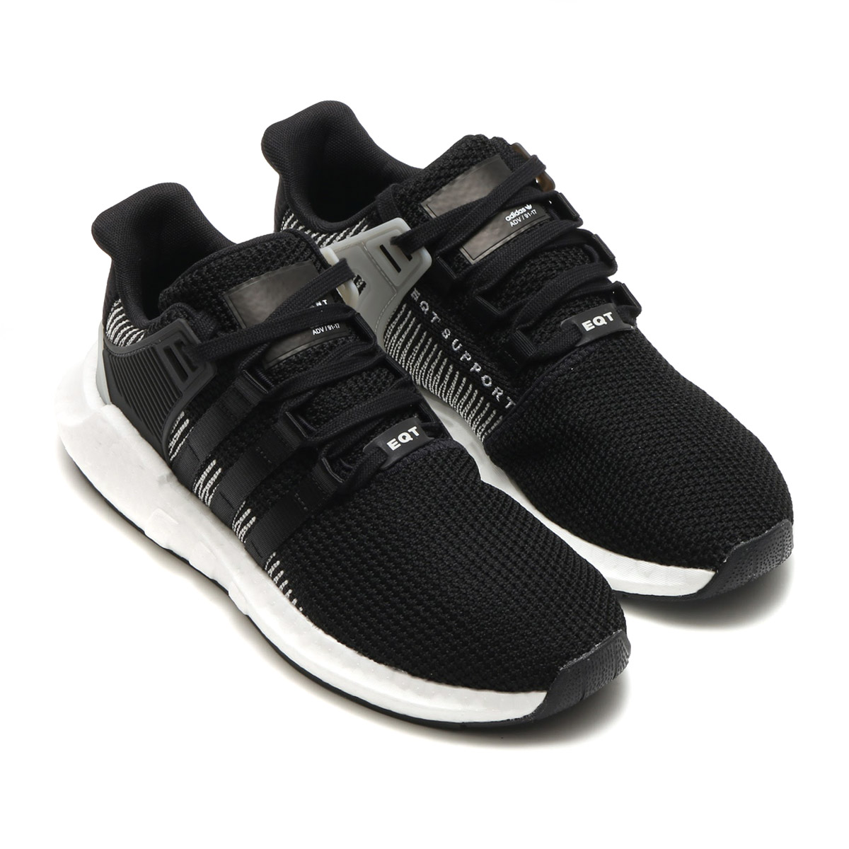 adidas Originals EQT SUPPORT 93/17(アディダス オリジナルス EQT サポート 93/17)CORE BLACK/CORE BLACK/RUNNING WHITE【メンズ スニーカー】17FW-I