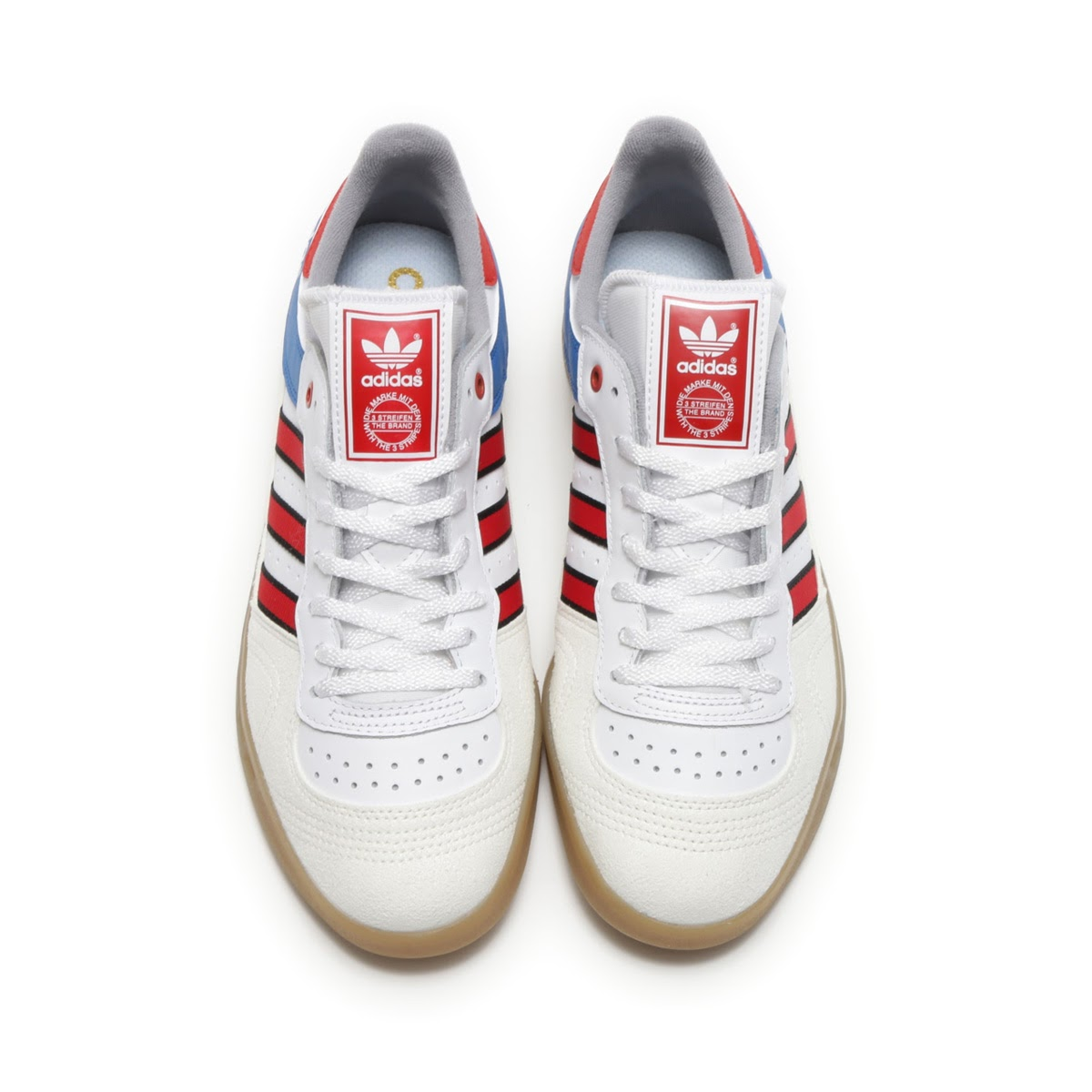 adidas originals handball top white red royal  7ffbc5b8e