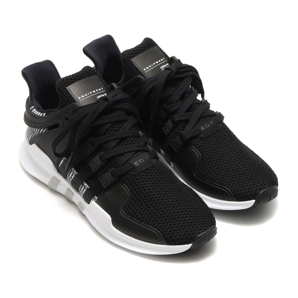 adidas Originals EQT SUPPORTADV(アディダス オリジナルス EQT サポートADV)CORE BLACK/CORE BLACK/RUNNING WHITE【メンズ スニーカー】17FW-I