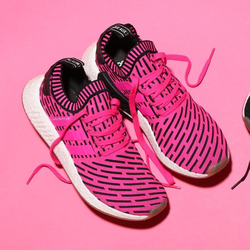 5103582ddf485 adidas Originals NMD R2 PK (Adidas originals NMD R2 PK) (Shock Pink Shock  Pink Core Black 17FW-I