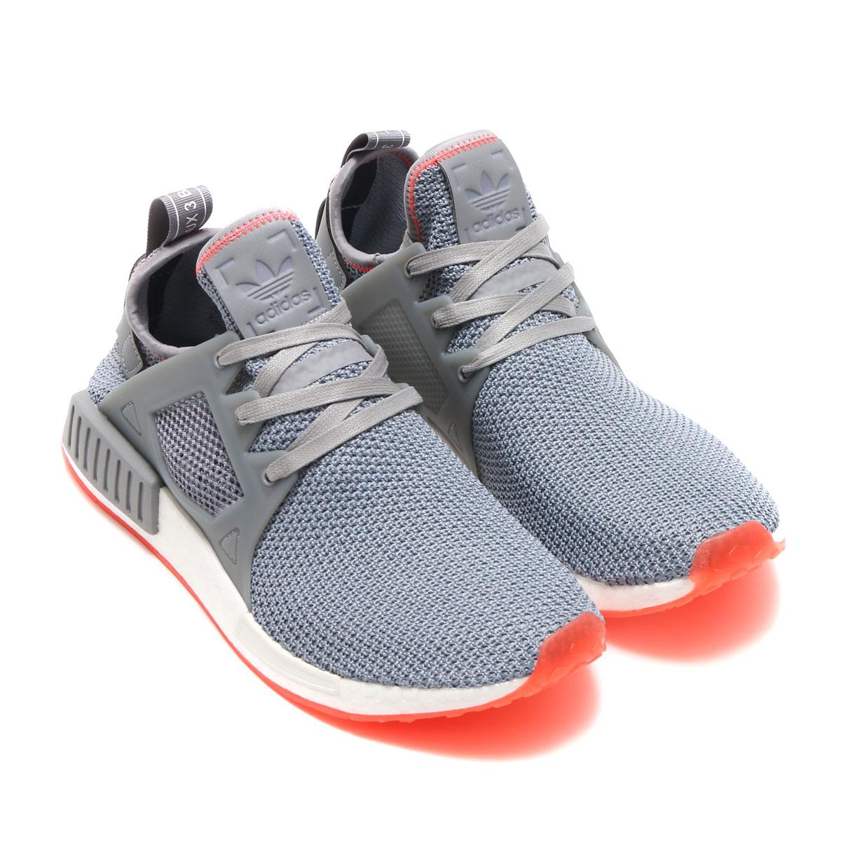 cheaper 6fac3 eea74 adidas Originals NMD XR1 (Adidas originals NMD XR1) Grey / Grey / Solar Red  17FW-I