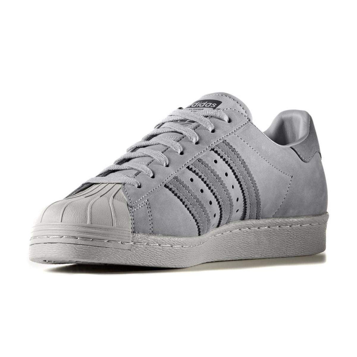 adidas superstar 80s trainers mid grey three grey