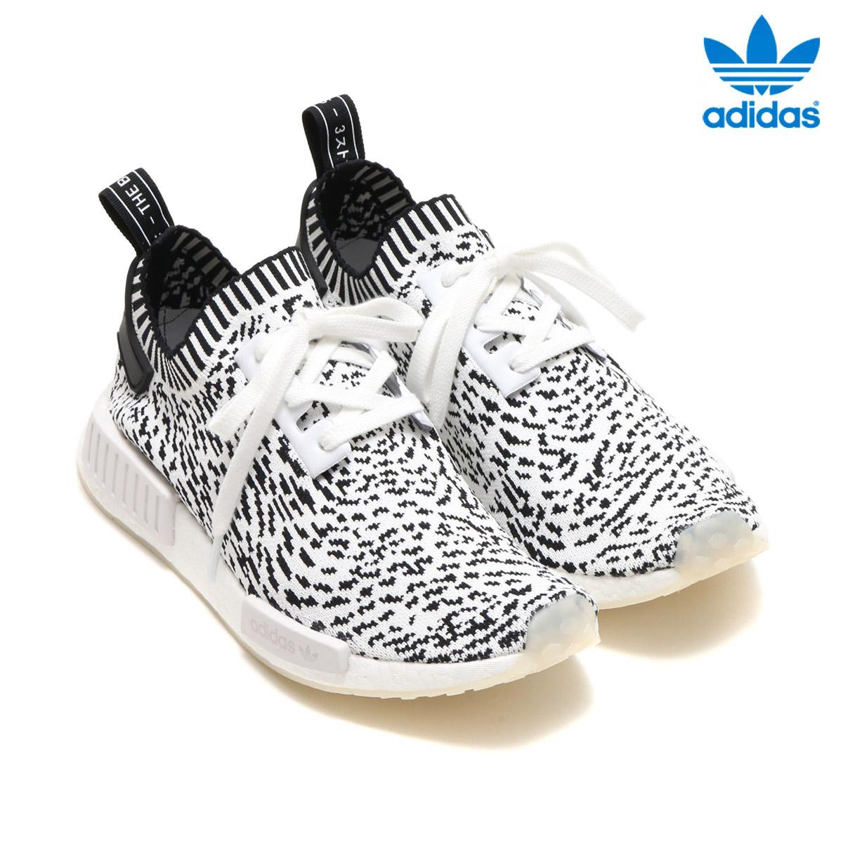 adidas Originals NMD_R1 PK(アディダス オリジナルス NMD_R1 PK) RUNNING WHITE/RUNNING WHITE/CORE BLACK【メンズ スニーカー】17FW-I
