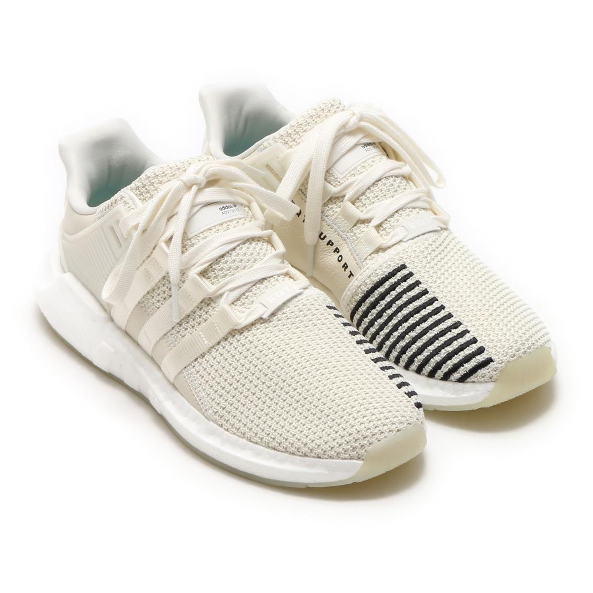 adidas Originals EQT SUPPORT 93/17 (アディダス オリジナルス EQT サポート 93/17) Off White/Off White/Footwear WhiteOff White/Off White/Footwear White【メンズ スニーカー】17FW-S