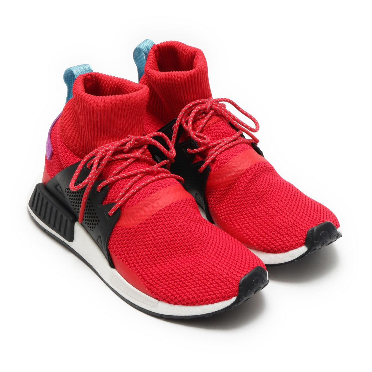 adidas Originals NMD_XR1 ADVENTURE PK(アディダス オリジナルス NMD_XR1 アドベンチャー PK) Scarlet/Core Black/Shock Purple【メンズ スニーカー】17FW-S