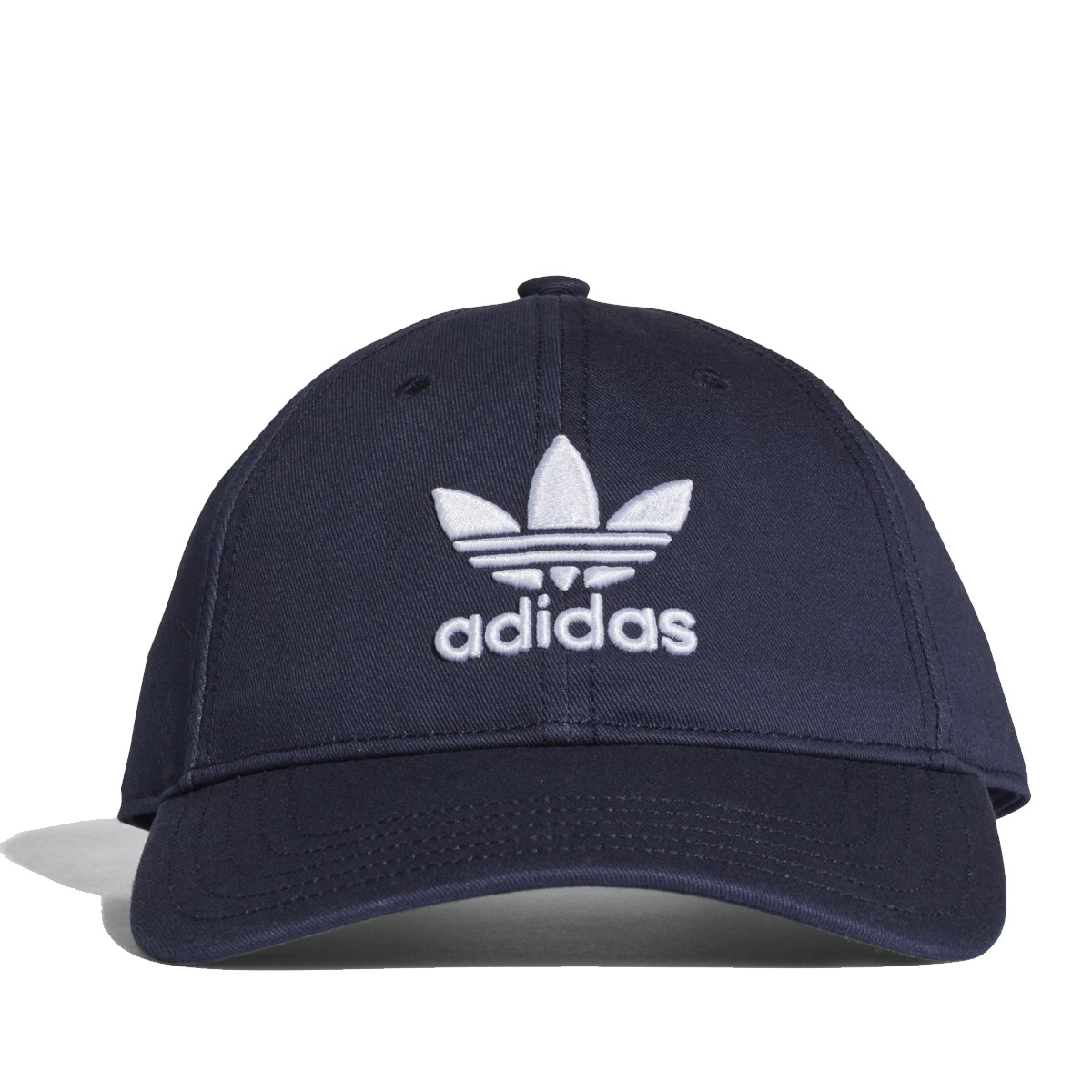 adidas Originals TREFOIL CAP (アディダス オリジナルス トレフォイル キャップ)  CollegiateNavy White  帽子  f68402f494db