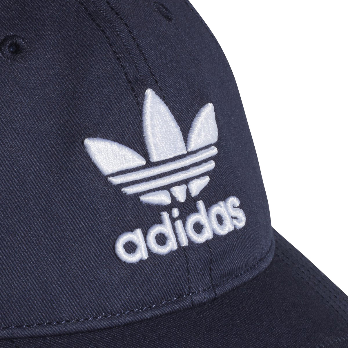 adidasOriginalsTREFOILCAP(アディダスオリジナルストレフォイルキャップ )CollegiateNavy White 帽子 18SS- ad8066d5543c