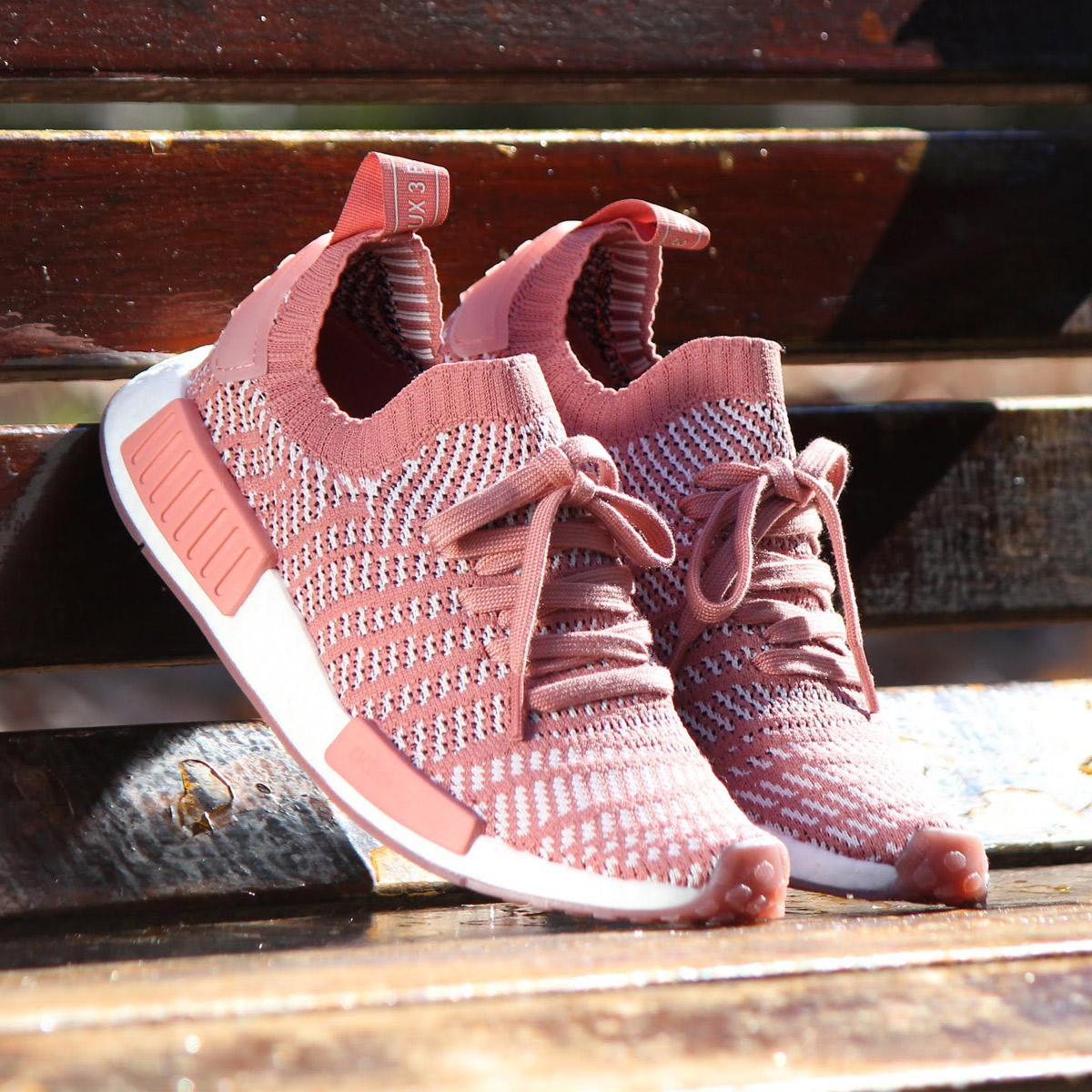 9c6a833b9c0981 atmos pink  adidas Originals NMD R1 STLT PK W (Adidas originals N M D R1  STLT PK W) Ash Pink Orchid Tint Running White 18SP-S