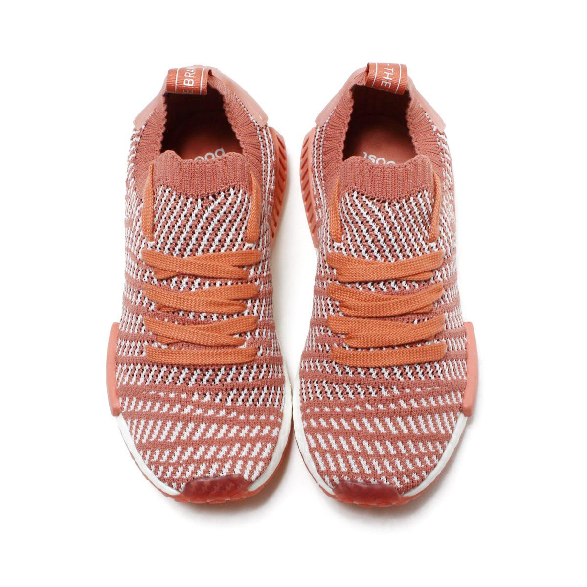 3afd4a9219f4e adidas Originals NMD R1 STLT PK W (아디다스오리지나르스에누엠디 R1 STLT PK W) Ash Pink Orchid  Tint Running White 18 SP-S